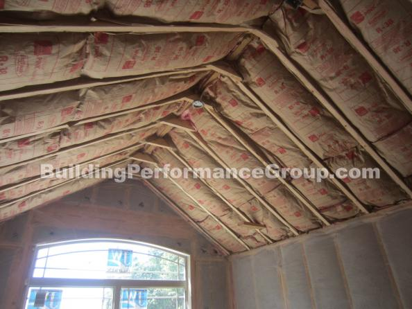 Examples Of Bad Insulation Installs New Construction